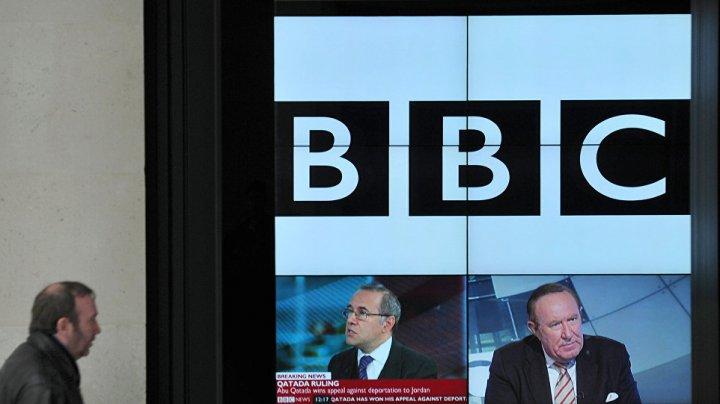Redacţia de televiziune și radio BBC Rusia ar putea fi transferată la Riga
