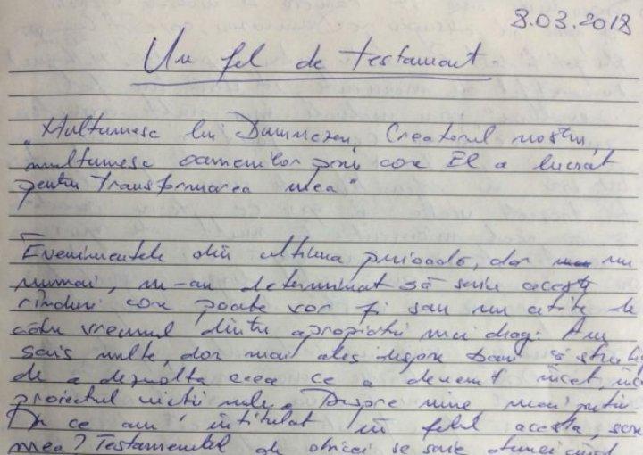 ÎNCROZITOR! Suspectul triplului omor din Braşov, ţinea un jurnal în care a scris înainte și după crimă