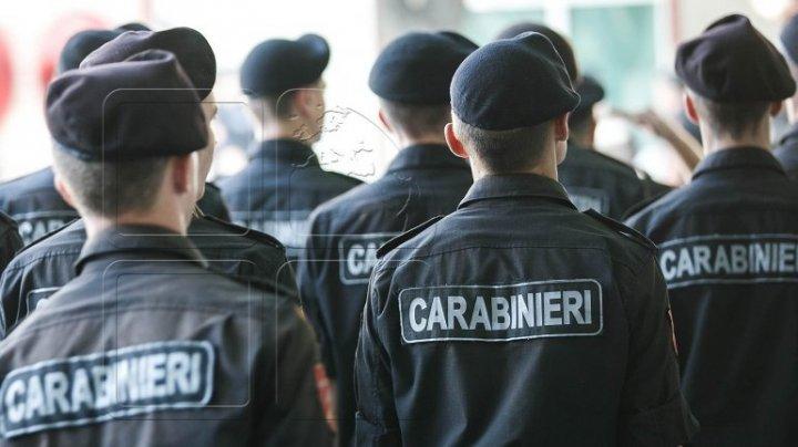 Show la departamentul trupelor de carabinieri! Unitatea Militară 1002 din Capitală a împlinit 26 de ani de la fondare