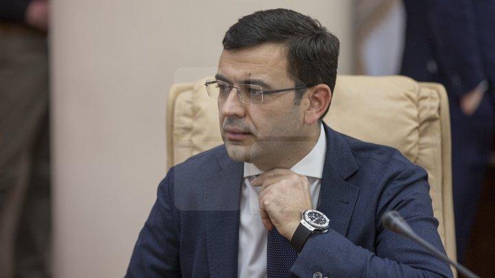 Chiril Gaburici: Constat buna implementare și în termeni a Foii de parcurs privind construcția Arenei Chișinău