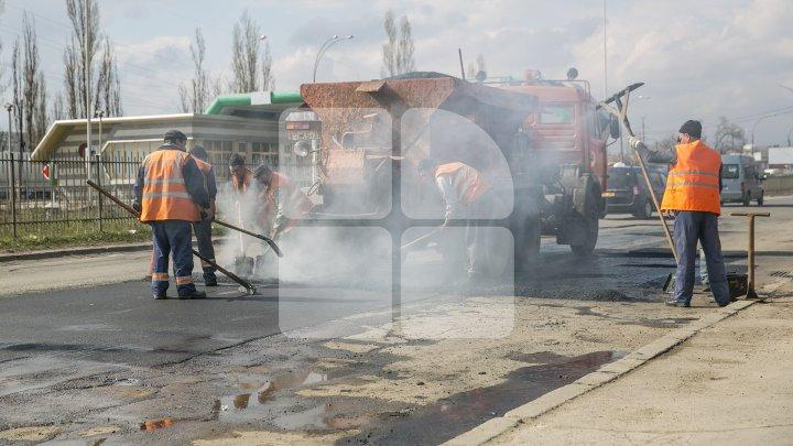 Străzile din Capitală pe care se vor efectua lucrări de reparaţie şi va fi suspendat traficul rutier
