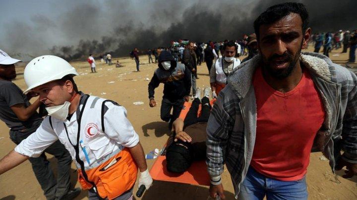 Doi palestinieni au fost ucişi de tiruri israeliene în Fâşia Gaza