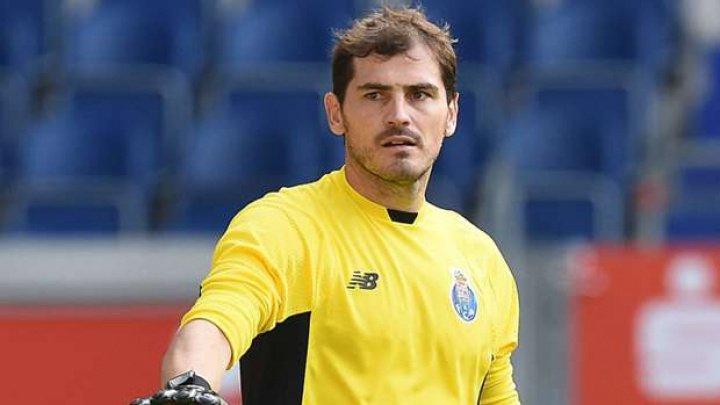 Iker Casillas, înaintea celui de-al 1.000-lea meci oficial din cariera sa