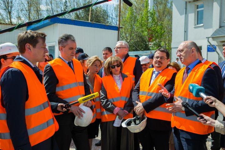 Pavel Filip, la Palanca: Acest punct de trecere va oferi servicii calitative, așa cum le întâlnim când trecem frontiera UE