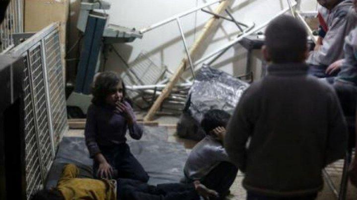 Mărturii cutremurătoare după atacul de la Douma, Siria: În loc să repirăm aer, respiram miros de sânge