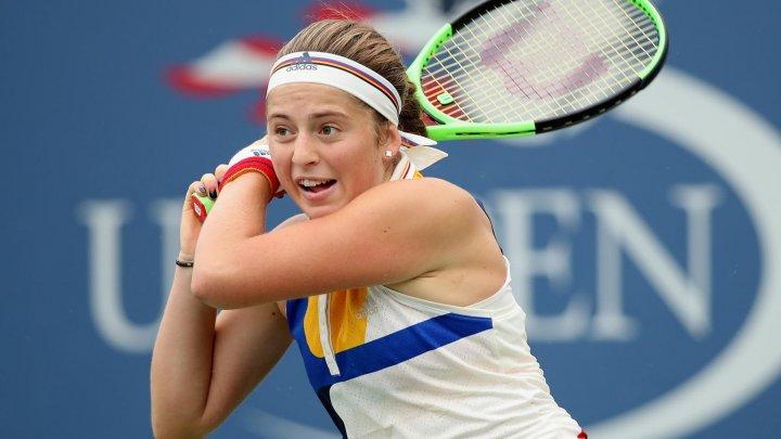 Distracţie pe terenul de tenis! Jelena Ostapenko, protagonista unui filmuleţ amuzant, realizat de Asociatia de Tenis Feminin
