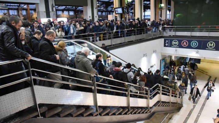 Compania publică de căi ferate din Franța a pierdut 100 milioane de euro din cauza grevei