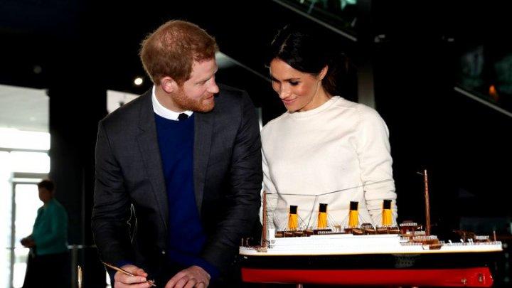 Prințul Harry și Meghan Markle au ales aranjamentele florale de la nuntă