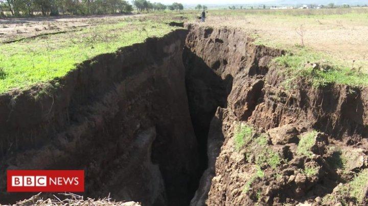 INCREDIBIL! Un continent de pe Terra se va rupe în două mai devreme decât estimau experții (FOTO)