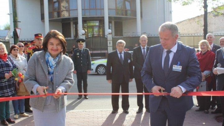 Ministrul Monica Babuc a participat la ceremonia de inaugurare a bustului ilustrului om de cultură belarus, Francisk Skorina