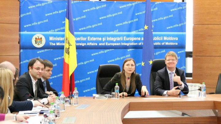 La Chișinău a fost discutat procesul de implementare a Acordului de Asociere şi cooperarea în cadrul noii arhitecturi a Parteneriatului Estic