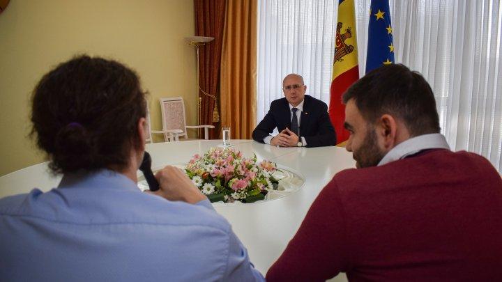 Pavel Filip, interviu exclusiv pentru Libertatea: În 2016, când Moldova trecea printr-o criză majoră, România a fost singura care ne-a întins o mână de ajutor