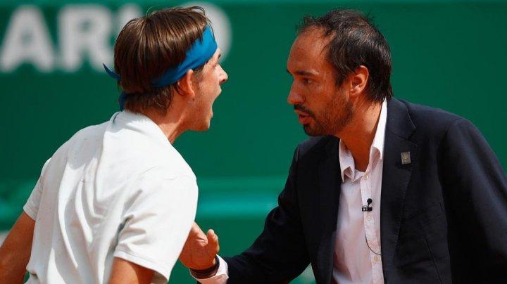 Scandal la un meci din turneul ATP 1000 de la Monte-Carlo. Jared Donaldson a urlat la arbitrul partidei