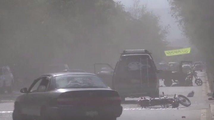 Atentat cu maşină-capcană la Kabul. Peste 40 de persoane au fost rănite