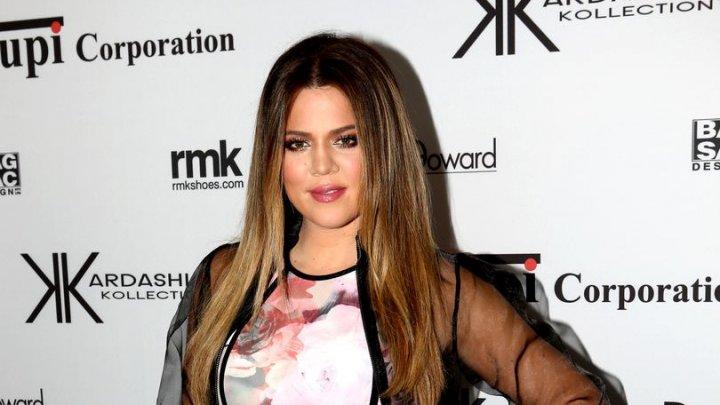 Khloe Kardashian a născut o fetiță