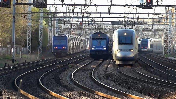 Grevă de amploare în Franţa. Circulaţia transportului feroviar, ÎNTRERUPTĂ
