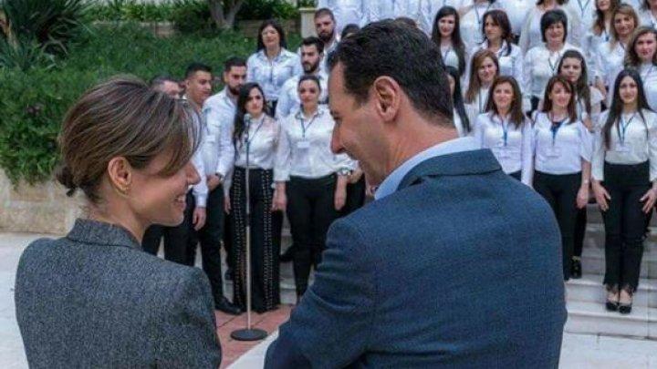 Luxul în care trăiește soția lui Bashar al-Assad, în timp ce Siria se sufocă sub atacuri chimice și asedii cu rachete