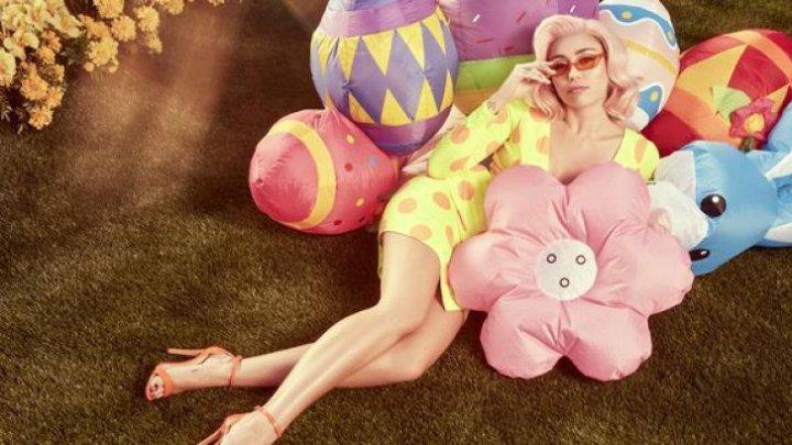 IMAGINI INCENDIARE de Paște cu Miley Cyrus. Cum a pozat artista