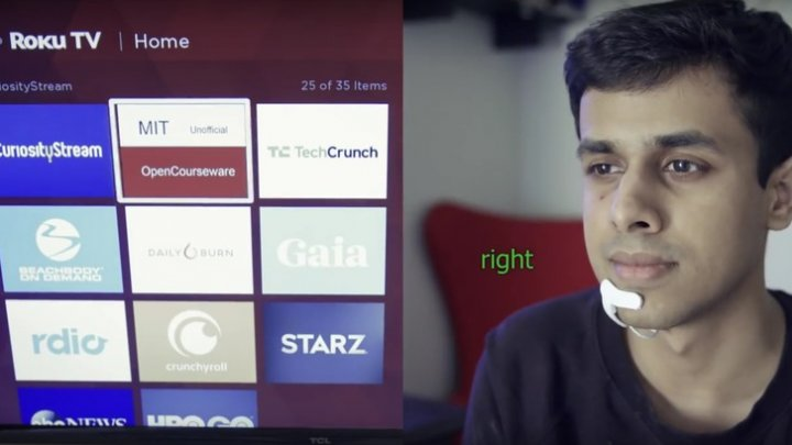 REVOLUȚIONAR! Cercetătorii de la MIT au creat un dispozitiv portabil care aude vocea interioară a utilizatorului (VIDEO)