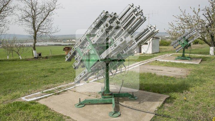 Terenuri protejate de grindină. Punctele de lansare vor primi câte 58 de proiectile (FOTOREPORT)