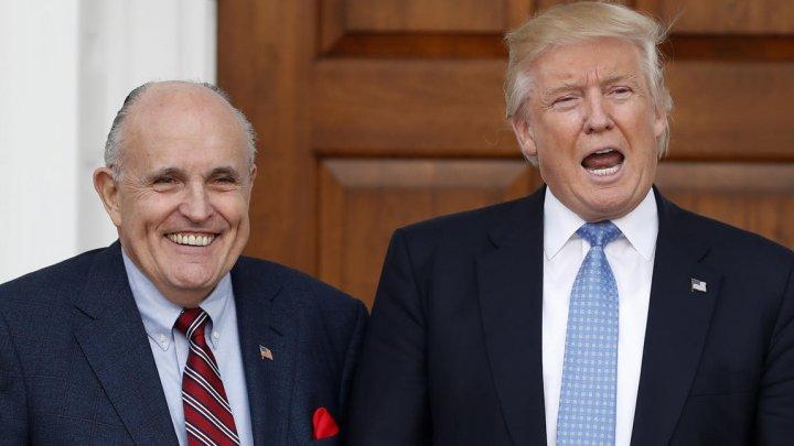 Fostul primar al New York-ului, avocatul lui Donald Trump în ancheta privind implicarea Rusiei în alegerile prezidenţiale