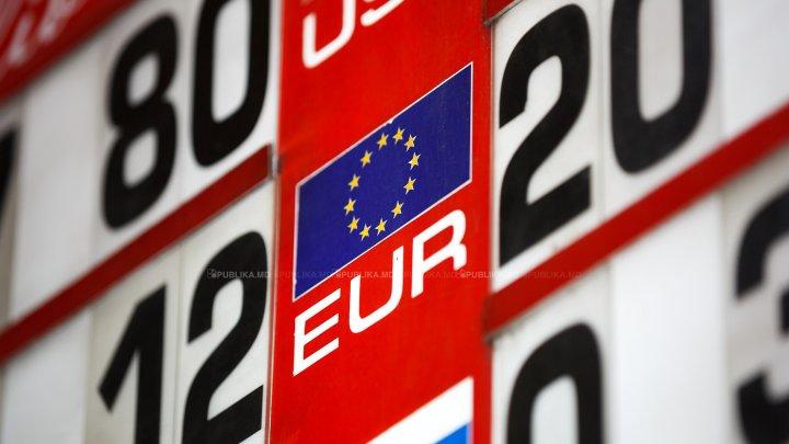 CURS VALUTAR 14 august 2019: Leul moldovenesc se apreciază faţă de moneda unică europeană