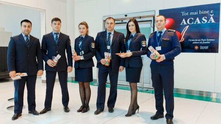 Serviciul Vamal felicită cetățenii care se întorc acasă de Paște