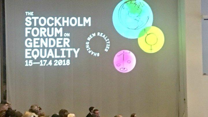 Secretarul de stat Tatiana Molcean a participat la Forumul privind egalitatea de gen