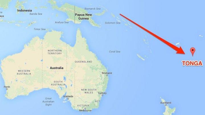 Un cutremur cu magnitudinea de 6.3 a zguduit insula Tonga