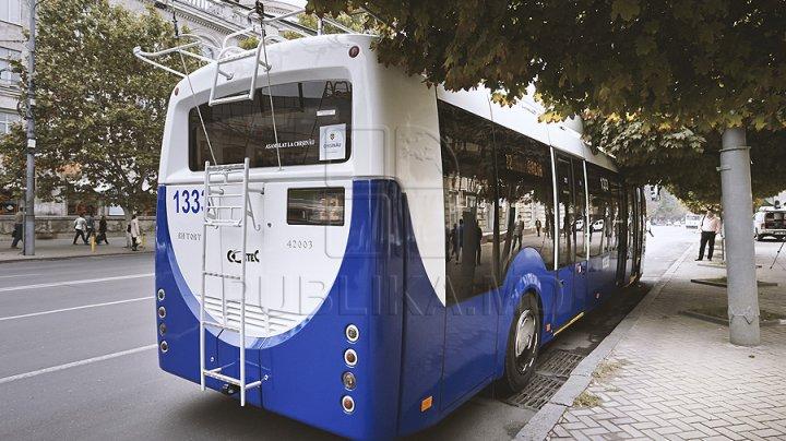 TRANSPORTUL PUBLIC, BLOCAT în cartierul Telecentru. Niciun troleibuz de pe liniile 3, 10 şi 24 nu va ajunge în zonă