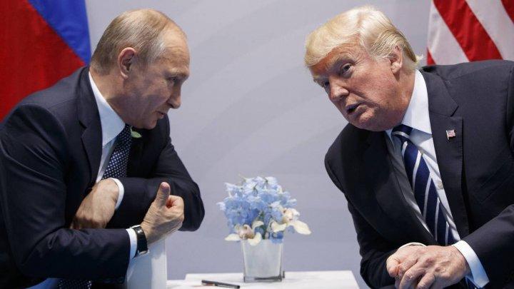 MAE rus: Donald Trump, bucuros să-l primească pe Vladimir Putin la Casa Albă