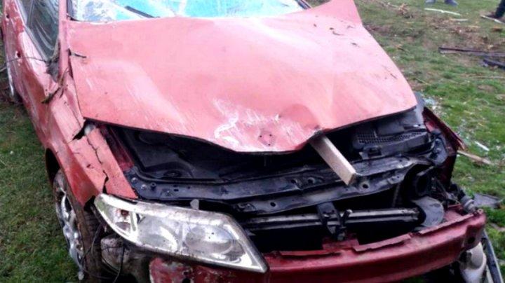 Accident grav în Constanța. Un localnic s-a trezit cu o mașină în casă