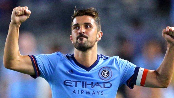 David Villa a marcat două goluri pentru New York City în partida cu Dallas din Major League Soccer