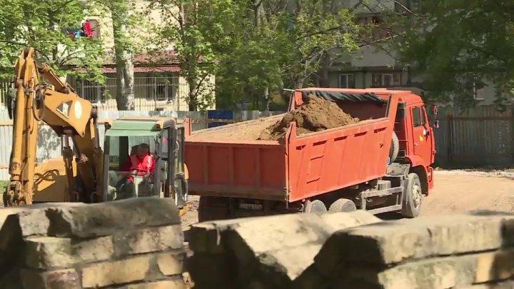Lucrări de construcţie OPRITE. Silvia Radu: Eu v-am promis că vin cu inspecţia şi am venit