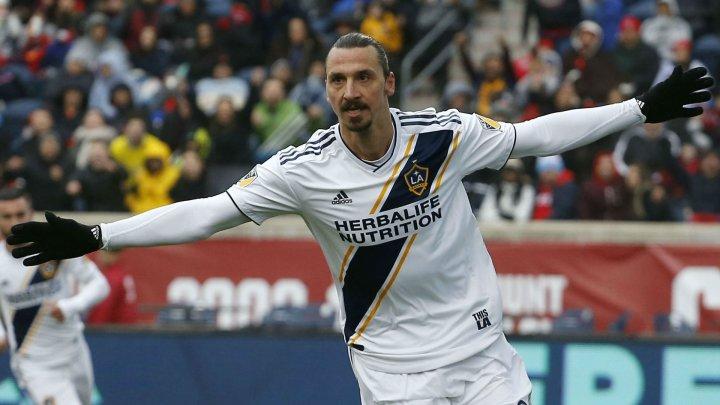 Celebrul Zlatan Ibrahimovic face legea în Major Soccer League