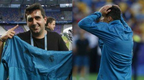 Cristiano Ronaldo i-a spart capul unui cameraman, în timpul antrenamentului pentru finala UCL (VIDEO)
