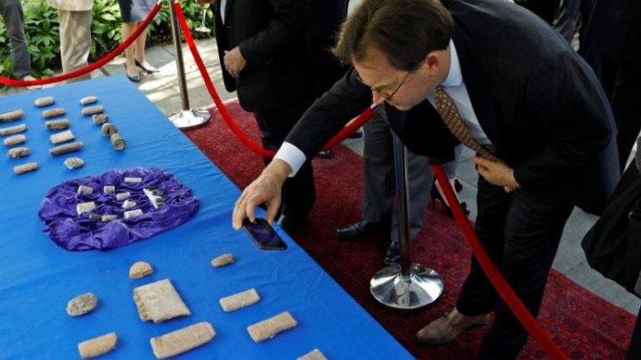 Autorităţile americane au restituit guvernului irakian circa 3.800 de artefacte antice