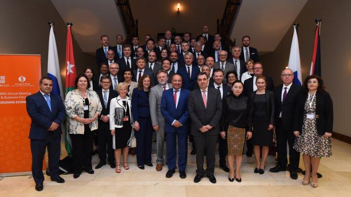 Guvernatorul Băncii Naționale a reprezentat Republica Moldova la Adunarea anuală a BERD