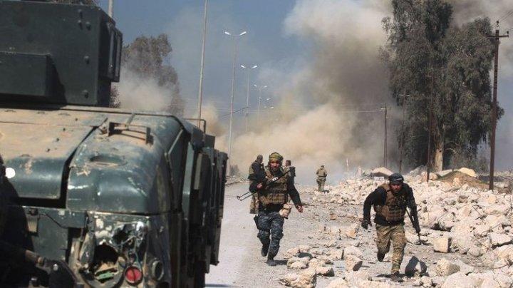 Imagini DEZASTRUOASE. Oraşul Mosul din Irak, ruinat complet în urma bombardamentelor