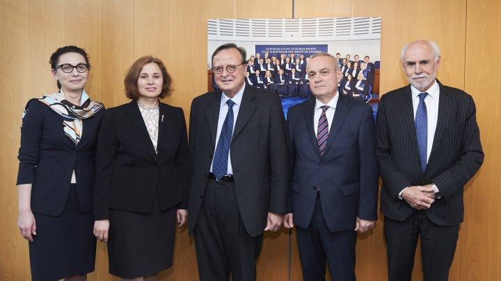 Curtea Europeană a Drepturilor Omului atestă o cooperare excelentă cu Republica Moldova
