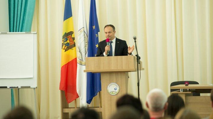 Andrian Candu: Prioritatea numărul unu este educația și capitalul uman. Nici un guvern nu va reuși fără sprijinul oamenilor și al tinerilor
