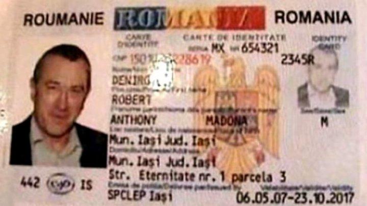 Trei români din Iaşi au falsificat buletinul lui Robert de Niro. Ce au vrut să facă cu el