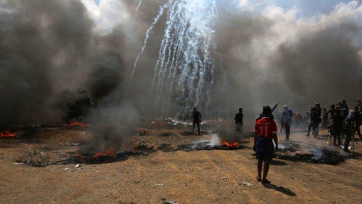 Armata israeliană a întreprins un raid în Fâșia Gaza