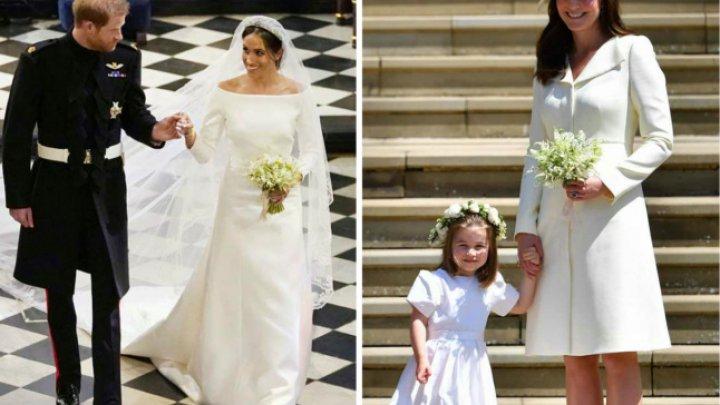 Ce cadou special i-a făcut Meghan cumnatei sale, Kate, în ziua nunţii cu Prinţul Harry