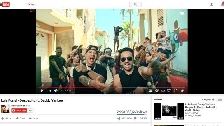 Au fost prinşi hackerii care au şters clipul Despacito de pe Youtube