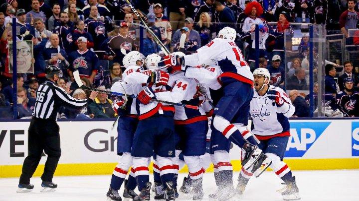 Washington Capitals a câștigat primul meci din finala Conferinței Est a Ligii profesioniste nord-americane de hochei