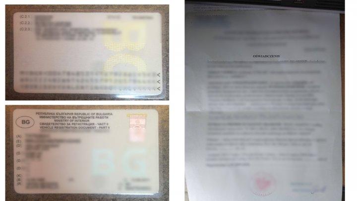 Doi moldoveni şi un ucrainean riscă DOSARE PENALE. Au încercat să intre în Moldova cu acte false