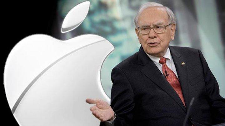 Omul de afaceri Warren Buffett deține 5% din acțiuni Apple care valorează 42,5 de miliarde de dolari