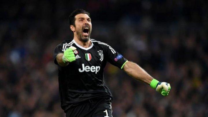 Lacrimi de tristețe la Torino. Gianluigi Buffon a jucat ultimul său meci la Juventus Torino