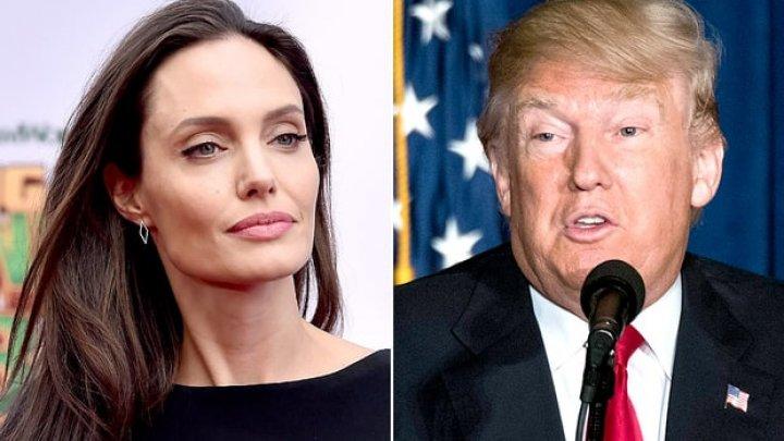 Donald Trump a criticat-o pe Angelina Jolie. Cine e, pentru el, cea mai frumoasă femeie